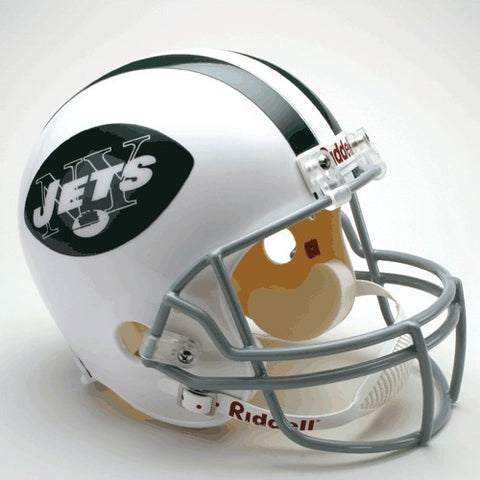 New York Jets 1965-77 Riddell Deluxe Replica Full Size Helmet