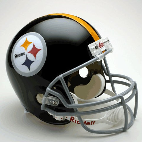 Pittsburgh Steelers 1963-76 Riddell Deluxe Replica Full Size Helmet