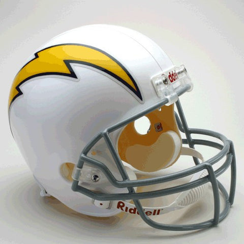 Los Angeles Chargers 1961-73 Riddell Deluxe Replica Full Size Helmet