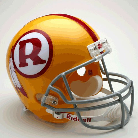 Washington Redskins 1970-71 Throwback Riddell Deluxe Replica Helmet
