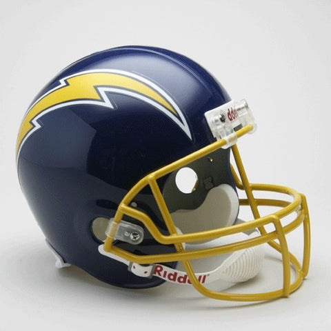 Los Angeles Chargers 1974-87 Riddell Deluxe Replica Full Size Helmet