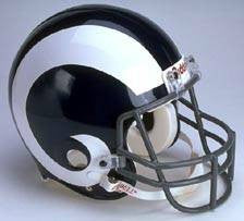 Los Angeles Rams 1965-72 Riddell Throwback Pro Line Helmet