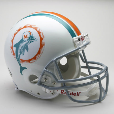Miami Dolphins 1972 Riddell Throwback Pro Line Helmet