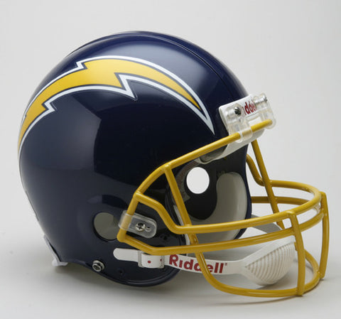 Los Angeles Chargers 1974-86 Riddell Throwback Pro Line Helmet