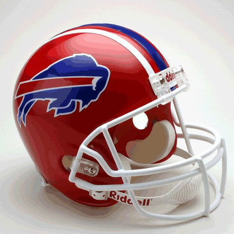 Buffalo Bills 1987-2001 Riddell Deluxe Replica Full Size Helmet
