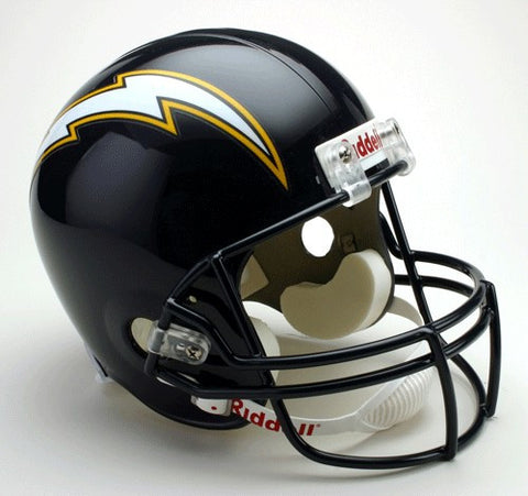 Los Angeles Chargers 1988-2006 Riddell Deluxe Replica Full Size Helmet