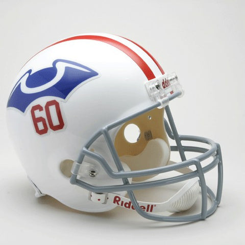 New England Patriots 1960 Riddell Deluxe Replica Full Size Helmet