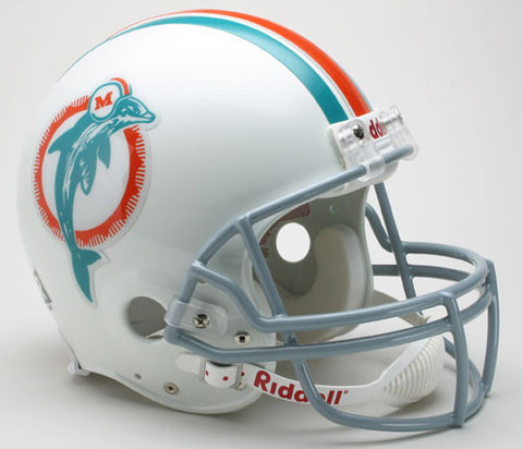 Miami Dolphins 1973-79 Riddell Throwback Pro Line Helmet