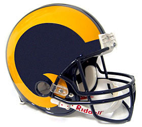 Los Angeles Rams 1981-99 Riddell Throwback Pro Line Helmet