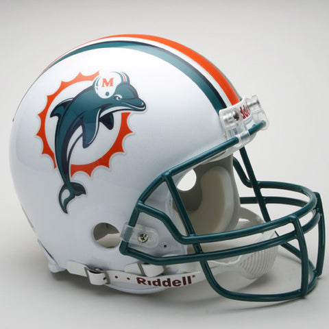 Miami Dolphins 1997-2012 Riddell Throwback Pro Line Helmet