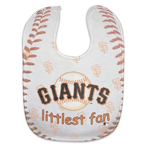 San Francisco Giants Baby Bib - All Pro Little Fan - Old Logo