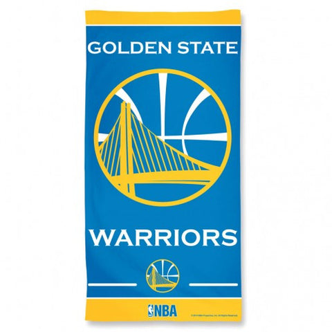 Golden State Warriors Beach Towel