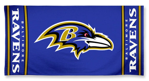 Baltimore Ravens Beach Towel