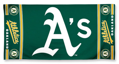 Oakland Athletics Beach Towel