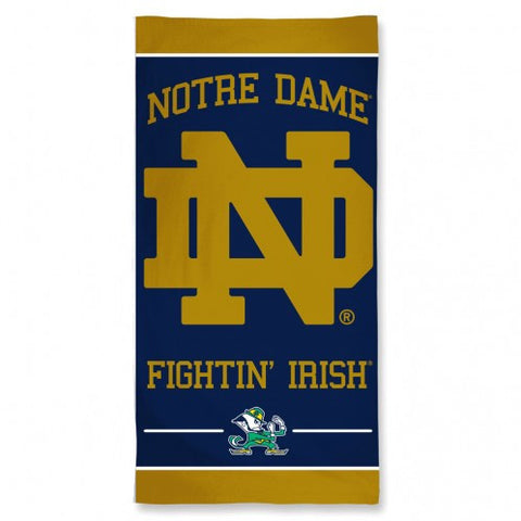 Notre Dame Fighting Irish Beach Towel