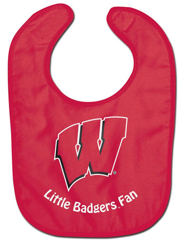 Wisconsin Badgers Baby Bib - All Pro Little Fan