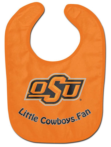 Oklahoma State Cowboys Baby Bib - All Pro Little Fan