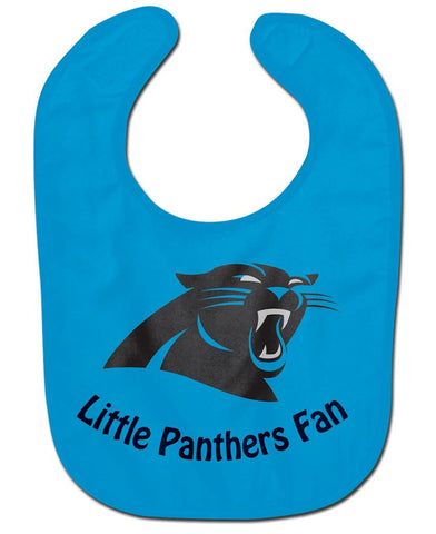 Carolina Panthers All Pro Little Fan Baby Bib