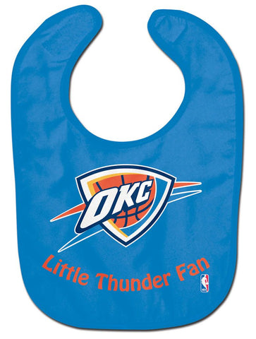 Oklahoma City Thunder Baby Bib - All Pro Little Fan