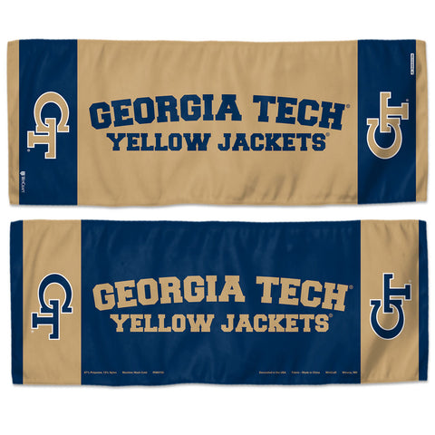 Georgia Tech Yellow Jackets Cooling Towel