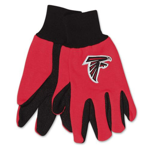 Atlanta Falcons Two Tone Adult Size Gloves