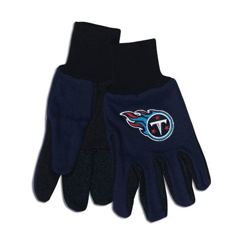Tennessee Titans Two Tone Adult Size Gloves