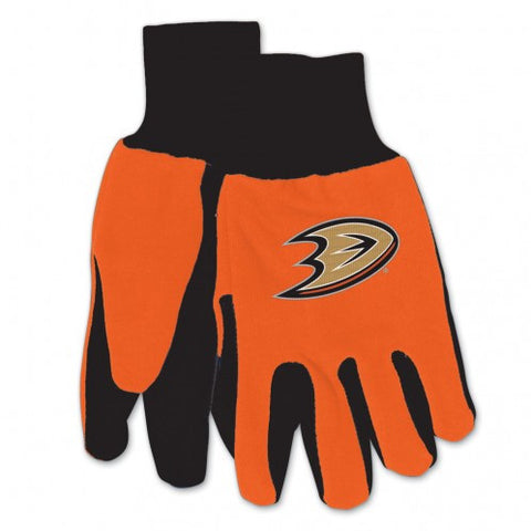 Anaheim Ducks Two Tone Gloves - Adult