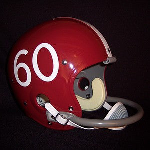 Alabama Crimson Tide 1961 '1961 National Champs' Authentic Vintage Full Size Helmet (Crimson Shell)