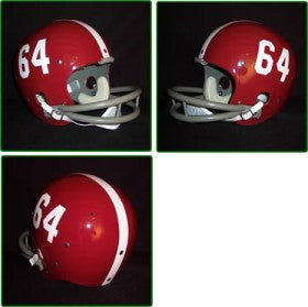 Alabama Crimson Tide 1961-82 '1964 National Champs' Authentic Vintage Full Size Helmet