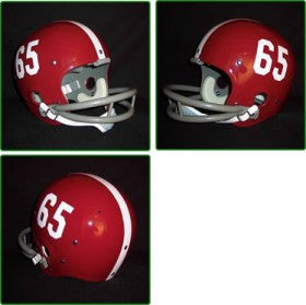 Alabama Crimson Tide 1961-82 '1965 National Champs' Authentic Vintage Full Size Helmet