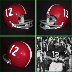 Alabama Crimson Tide 1961-82 'Ken Stabler' Authentic Vintage Full Size Helmet