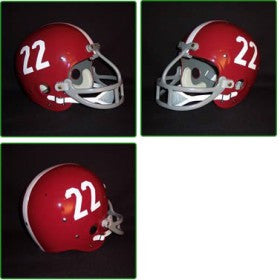Alabama Crimson Tide 1961-82 'Johnny Musso' Authentic Vintage Full Size Helmet