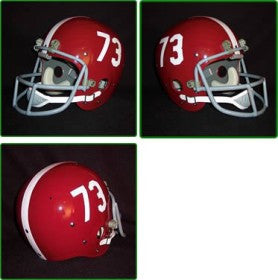 Alabama Crimson Tide 1961-82 '1973 National Champs' Authentic Vintage Full Size Helmet
