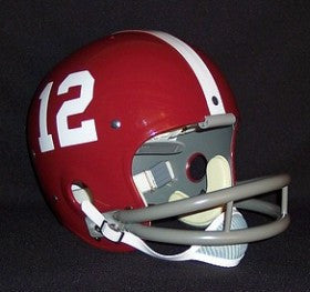 Alabama Crimson Tide 1962-64 'Joe Namath' Authentic Vintage Full Size Helmet