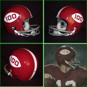 Alabama Crimson Tide 1969 '100 Year Anniversary of College Football Logo' Authentic Vintage Full Size Helmet