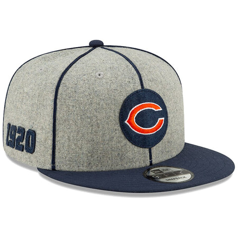 Chicago Bears New Era 2019 Sideline Official Home 9FIFTY Snapback Cap