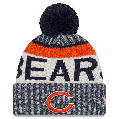 Chicago Bears 2017 Official Sideline Beanie
