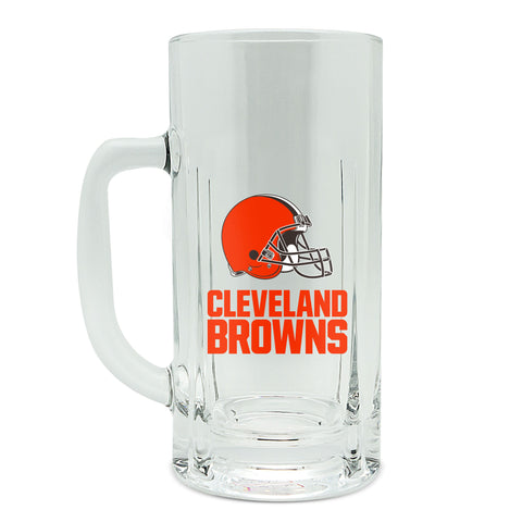 Cleveland Browns 20oz High Glass Kraft Mug