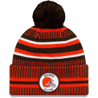 Cleveland Browns 2019 Official Home Sideline Beanie
