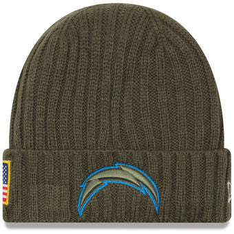 Los Angeles Chargers 2017 Salute to Service On-Field Beanie