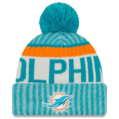 Miami Dolphins 2017 Official Sideline Beanie