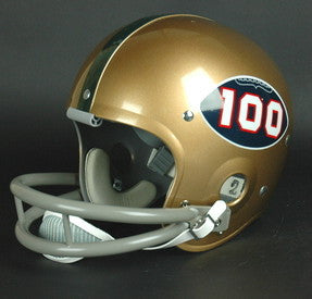 Miami Hurricanes 1969 '100 Year Anniversary of College Football Logo' Authentic Vintage Full Size Helmet
