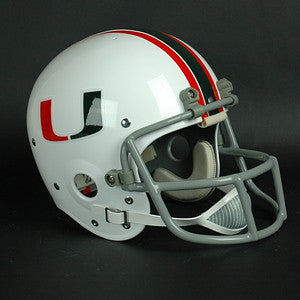 Miami Hurricanes 1977 Authentic Vintage Full Size Helmet
