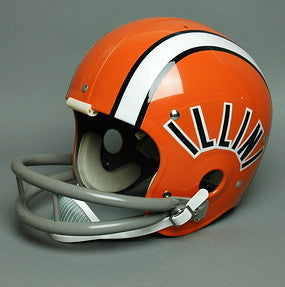 Illinois Fighting Illini 1971-76 Vintage Full Size Helmet