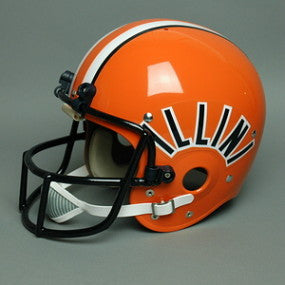 Illinois Fighting Illini 1977-79 Vintage Full Size Helmet