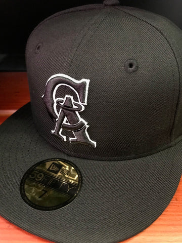 California Angels 1993-96 Black Cooperstown 59FIFTY Cap