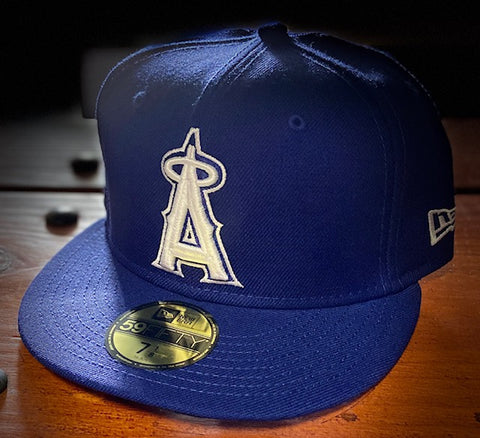 Los Angeles Angels 1993-96 Royal Blue Cooperstown 59FIFTY Cap