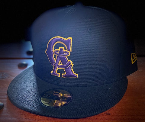 California Angels 1993-96 Lakers Color Themed 59FIFTY Cap