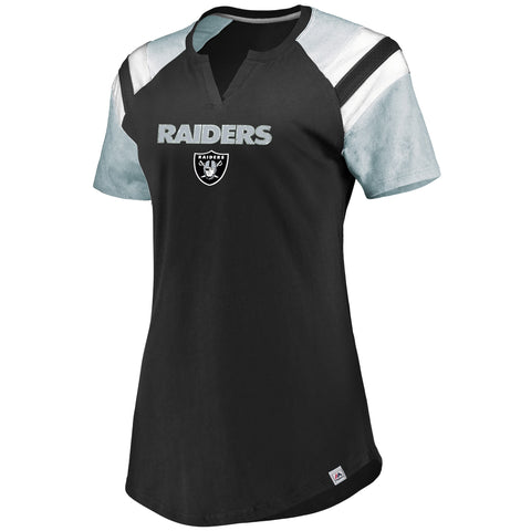 Oakland Raiders Ultimate Fandom Ladies Shirt