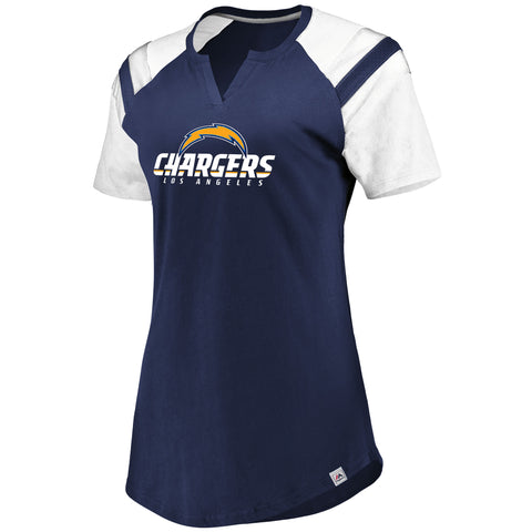 Los Angeles Chargers Ultimate Fandom Ladies Shirt